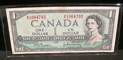1954 Bank of Canada $1 Note - 4793