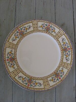 "EXTREMELY RARE MINTON ENGLAND 10.5"" dINNER PLATE EMBOSSED BACK STAMP"