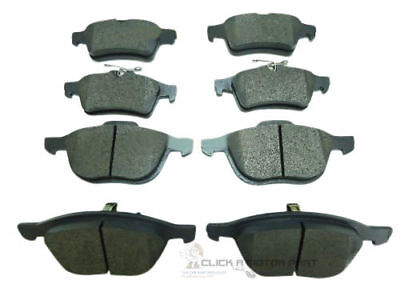 FORD FOCUS MK3 2011-2016 1.0, 1.5 1.6 2.0 TDCi FRONT AND REAR BRAKE PADS SET