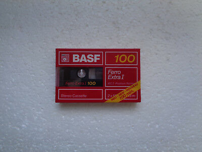 Vintage Audio Cassette BASF Ferro Extra 100 * Rare From Germany 1988 *
