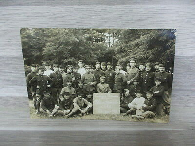 Old Photo postcard group Military soldiers in costume Peloton Speciale C.I.A.X.