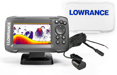 Kit Lowrance Hook2-4x Eco/Gps con trasduttore Bullet Skimmer +SunCover #62130107