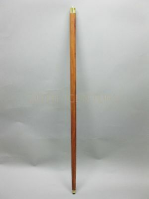 Rosewood Sheesham Wooden Walking Cane Stick without Handle Victorian 93cm
