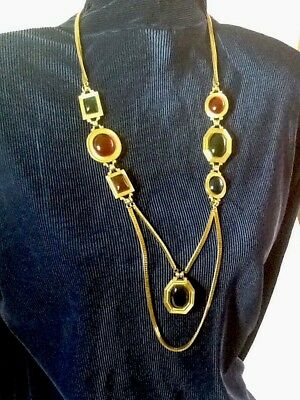 Rare, Signed and Numbered, Regal Elegant Vintage Yves Saint Laurant Necklace..