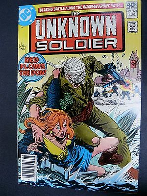 The Unknown Soldier #242 Vf/nm 1980 High Grade Dc Comic