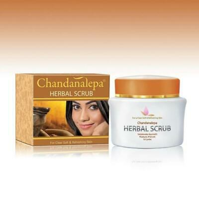 chandanalepa herbal scrub for a clear soft&refreshing skin sandalwood/turmeric
