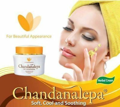 Chandanalepa Cream natural Sandalwood, Venivel/ healthy skin protector discolour