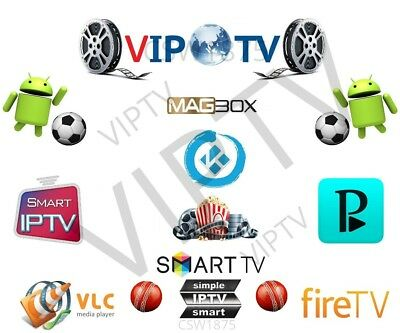 3 Month IPTV Smart Magbox Kodi Android UKUS Channels,3pm,World Sport,Movies