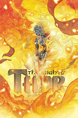MIGHTY THOR #705 Death of Mighty Thor Marvel Comics NM Presale 3/20/2018