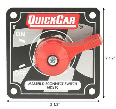 QuickCar 55-012 Battery Disconnect Switch Panel #2051