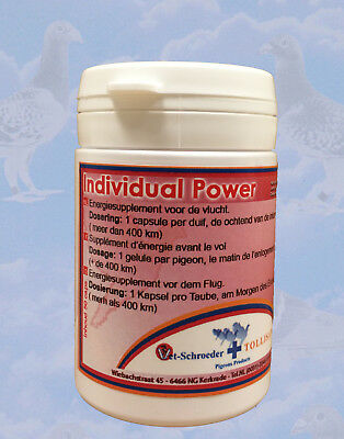 Tollisan Individual Power 50 pills (Super energy pill) for Racing Pigeon