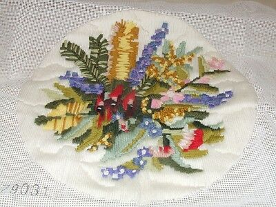 Long Stitch - Assorted Flowers - Completed