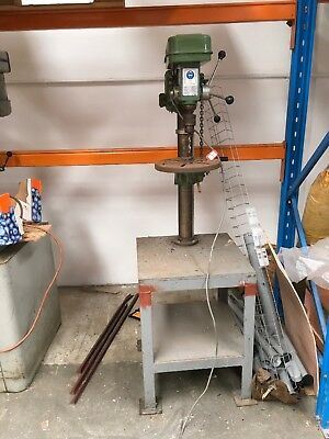 Pedestal Drill Press on big stand 240v Drilling Machine from WETHERILL PARK TAFE
