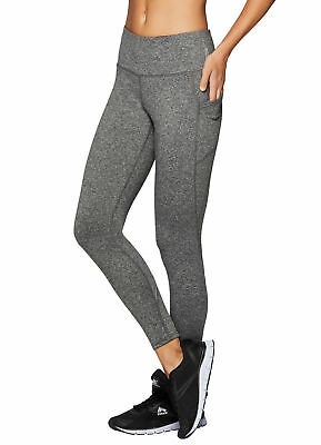 c1e43e7339a5a RBX ACTIVE WOMEN'S Workout Yoga Ankle Legging with Side Detail ...