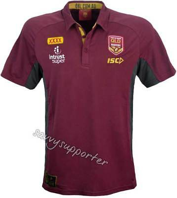 Queensland State of Origin 2018 NRL Performance Polo Shirt Mens and Ladies Sizes