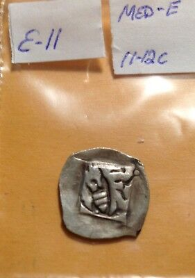 11th/12th century silver Medieval Coin sharp!