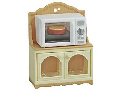 NEW Sylvanian Families Furniture microwave oven rack Calico Critters Epoch