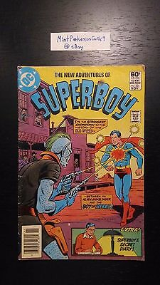 Superboy - # 23 1981 Series DC Comic Book - Includes Bag/Board