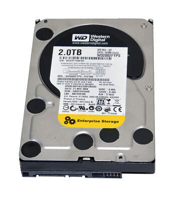 "Western Digital WD RE4-GP WD2002FYPS 2TB 64MB Cache 3.5"" SATA Hard Drive"