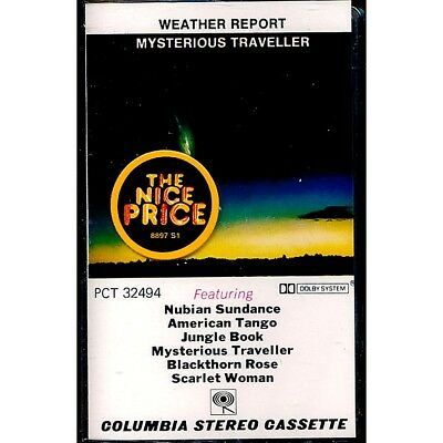 SEALED NEW TAPE Weather Report - Mysterious Traveller