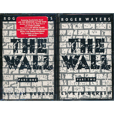 SEALED NEW TAPE Roger Waters - The Wall: Live In Berlin