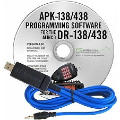 Rt Systems Usb Programing Cable + Software Ts-590S Tmd-710 Tm-271 Tm-281