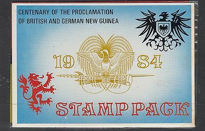 PAPUA NEW GUINEA 1984 Cent. of PROCLAMATION  POPack MUH..