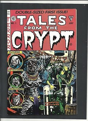 TALES FROM THE CRYPT #1 July 1990 Double-Sized Excellent Condition