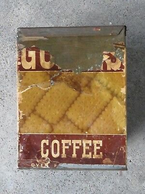 Guest's Biscuit Tin - Coffee Biscuits- Guests Biscuits- TB Guests Biscuits