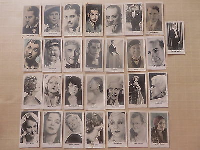 1930' cartes LA PIE QUI CHANTE acteur movie card actrice actress cinéma vac15
