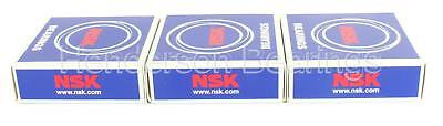 6203-2RS Ball Bearing Premium Brand NSK 17x40x12mm (Pack of 3)