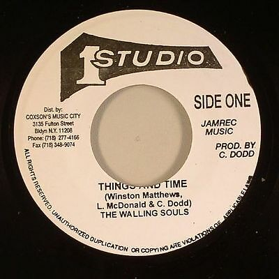 The Wailing Souls - Things And Time (Studio 1) 1969