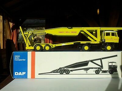 lion toy  limited edition car transporter very rare abbey hill yeovil