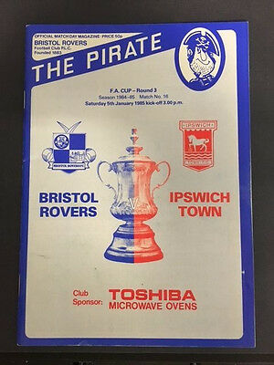 Bristol Rovers v Ipswich Town, FA Cup - Round 3, 5th January 1985