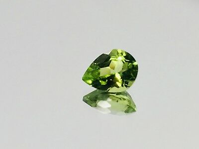 NATURAL PERIDOT 1.65ct AMAZING FIRE!! TOP COLOR!! Wholesale Loose Gemstone