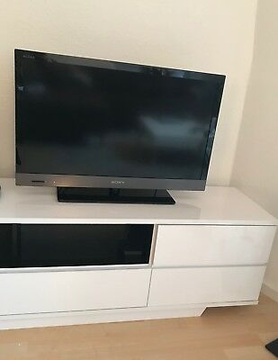 sony bravia kdl 32ex520 lcd tv fernseher schwarz 32 zoll exzellenter zustand eur 112 11. Black Bedroom Furniture Sets. Home Design Ideas