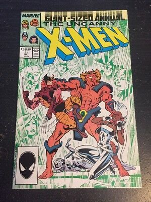 Uncanny X-men Annual#11 Incredible Condition 9.2(1987) Captain Britain App!