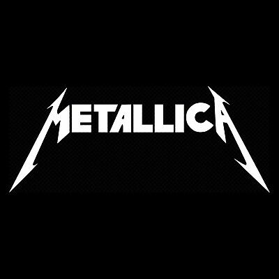 2 Metallica vinyl sticker decals rock music metal