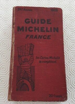 Guide Michelin France 1928