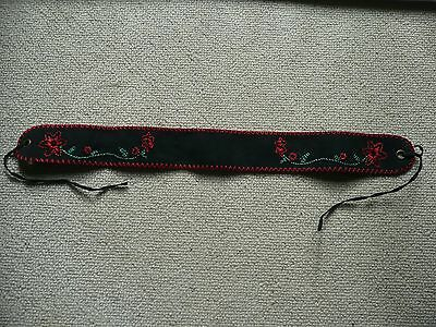 Ladies Brand New Vintage Suede Belt from Austria. Very traditional and pretty.