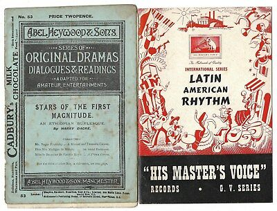 Two old booklets.  (49)