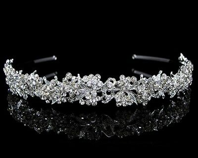 Stunning  Crystal  Hair Band Bridal Communion  Bridesmaid Flower-Girl Hair Band