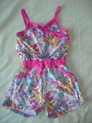 My little pony girls spring summer jersey playsuit 9-10 years