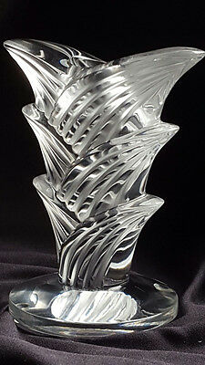 LALIQUE very rare crystal CANDLE HOLDER  NP € 600,00