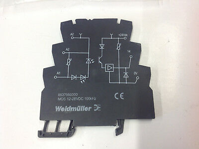 Weidmuller 8937990000 Solid State Relay MOS 12-28VDC 100kHz.  NEW NO BOX