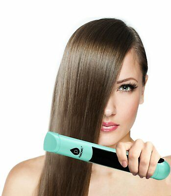 Pursonic USB Rechargeable Cordless Flat Iron Portable Hair Straightener W/ Case