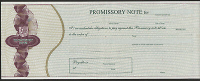 Lithuania veksel promissory note 199*