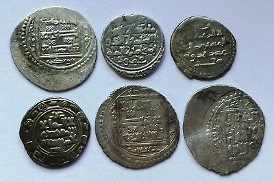 Islamic - Unresearched Silver Coins (6).