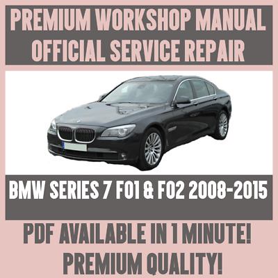Bmw all models repair service workshop manual tis factory 599 workshop manual service repair for bmw 7 series f01 f02 2008 2015 freerunsca Image collections