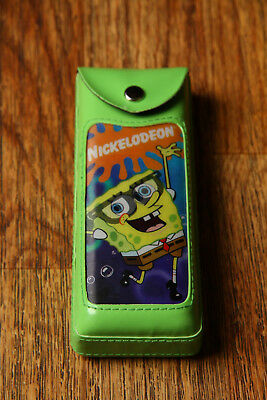 Spongebob SquarePants Glasses Case 2002 Nickelodeon Changing Picture Green